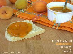 #Confettura di #albicocche, #zenzero e menta...