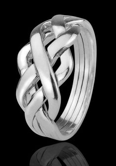 silver puzzle ring. I used to have one