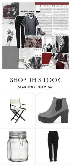 """""""CODEINE CUPS PAINT A PICTURE SO VIVID / ADVICE??"""" by navyvein ❤ liked on Polyvore featuring Pier 1 Imports, Crate and Barrel, Topshop, BLK DNM, sophiassets and lovefromsophia"""