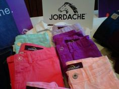 Jordache Jeans come in all the great spring colors