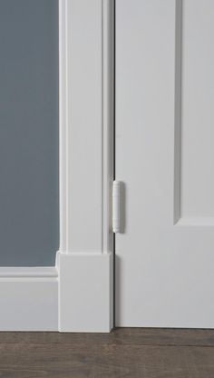Moldings And Trim, Door Trims, Contemporary Classic, Baseboards, Interior Design Inspiration, Windows And Doors, Interior Styling, Tall Cabinet Storage, New Homes