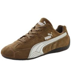 Speed Cat SD Trainers:Statement for fierce motorsport enthusiasts: The Speed Cat.  Cult sneaker inspired by motorsports PUMA formstrip in smooth leather PUMA cat on toe section Grease-resistant anti-slip sole Please order one size larger