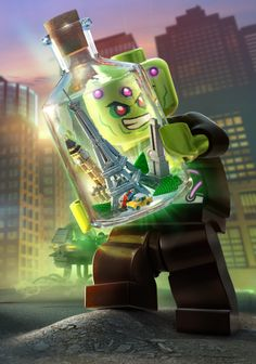 LEGO Batman 3 Digital Art, Drawing, Illustration