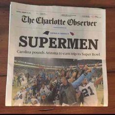 Carolina Panthers SUPERMAN Car v AZ. NFL - Mercari: Anyone can buy & sell