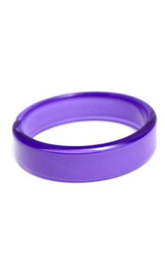 Zenzii Resin Bangle - Purple. Shop for this and other Zenzii accessories at luanders.com.