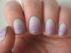 Never Nude Nails: OPI Solitaire + Gradient