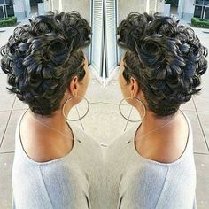 7.Pixie Cuts for Curly Hairs