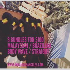 Crazy sale! Purchase your Malaysian or Brazilian hair now. @j.marlene_hair_la (link to the website is in their bio) #hairinquiry #qualityhair #brazilianhair #malaysianhair #Christmas #hairsale #bundlesale #weave #lahair #tbt #virginhair #protectivestyles #goodhair #healthyhair #hairgoals #instagood #igdaily #photooftheday by hairinquiry