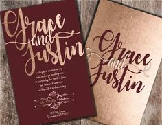 Burgundy and Blush Wedding Invitations Burgundy by Joyinvitations