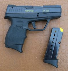Taurus PT709 9mmLoading that magazine is a pain! Get your Magazine speedloader today! http://www.amazon.com/shops/raeind