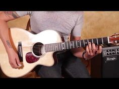 ▶ Led Zeppelin Style Acoustic Blues Guitar Lesson - Bron-Y-Aur Stomp Inspired - YouTube