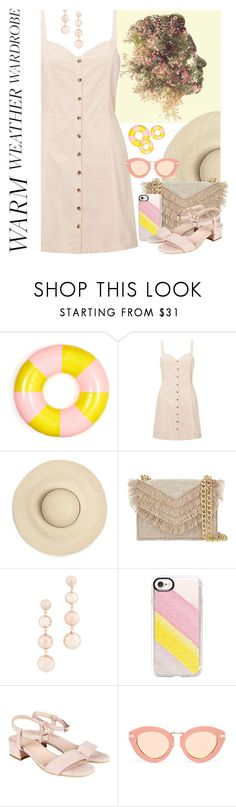 """Still Hot!"" by petalp ❤ liked on Polyvore featuring ban.do, Miss Selfridge, Cynthia Rowley, Rebecca Minkoff, Casetify, Karen Walker and dress"