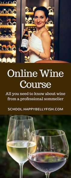Introductory online wine course for anyone who loves wines and wants to choose, drink, serve and pair wines with food like a professional sommelier.