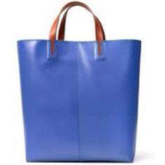 Zara blue shopping bag