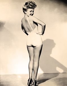 Betty Grable 1944 Iconic