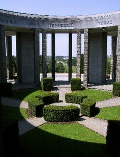 The American Memorial at Mardasson Hill – Bastogne (Belgium) ©OPT Jean Mart Belgium Tourism, European Road Trip, Luxembourg, Places Ive Been, Attraction, Gazebo, Sidewalk, Outdoor Structures, Italy