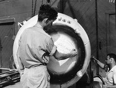 17 Imagens históricas de momentos antes de lançarem a bomba atômica de Hiroshima