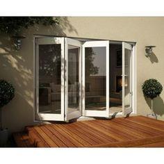 Wellington White Folding Sliding Patio Door Set 3005mm Wide From Homebase Co Uk Folding Patio Doors Patio Doors Door Sets