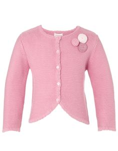 Baby Berry Cardigan | Pink | Monsoon