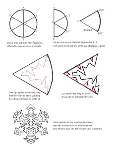 playing dog Paper Snowflake cutting PATTERN   Snowflakes Paper