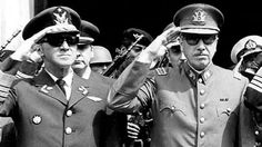 For a few days in October a military delegation toured provincial cities in northern and southern Chile, its mission to kill dozens of political opponents of General Augusto Pinochet's September coup. Bbc News, Latino Americano, Self Styled, Military Coup, Caravan, American History, Iron Man, Captain Hat, Dating