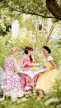 I want to do this:  garden tea party ✿⊱╮