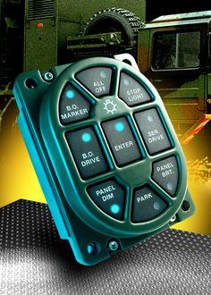 Military Vehicle Light Switch