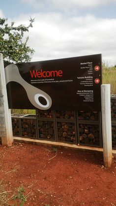 Welcome to Cradle of Humankind, Maropeng. South Africa