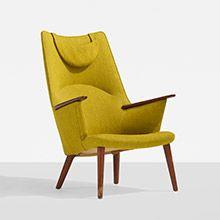 lounge chair, model AP27 by Hans Wegner