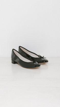 Jane Original Ballerina W/Heel by Repetto