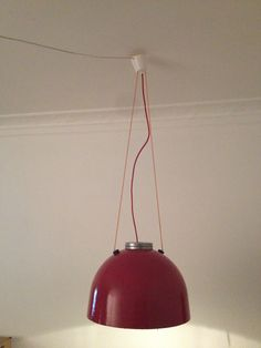 DIY old street lamp from Copenhagen remade to fit the Living room