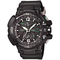 G-SHOCK GWA1100-1A3, G-Shock elevates watch performance and design with GWA1100-1A3. Triple G Resist lets it withstand the shock of gravitational dropping forces, centrifugal G-forces and vibration.