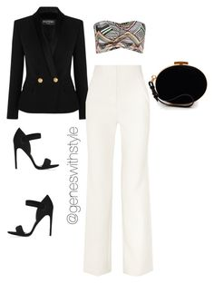 """""""Vixen In A Pantsuit"""" by fashionablyeren ❤ liked on Polyvore"""