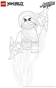 coloring page Lego Ninjago on Kids-n-Fun. Coloring pages of Lego Ninjago on Kids-n-Fun. More than coloring pages. At Kids-n-Fun you will always find the nicest coloring pages first! Fall Leaves Coloring Pages, Cool Coloring Pages, Coloring Sheets, Lego Batman Party, Ninjago Coloring Pages, Lego Knights, Ninjago Party, Lego Marvel's Avengers, Little Pony Party