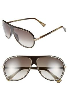 Lanvin 62mm Aviator Sunglasses available at  Nordstrom Lentes Hombre, Gafas,  Formas De Vestir dd2915c511