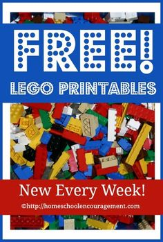 Free LEGO® Printables Weekly! We have a brand new series at Homeschool Encouragement which I think your children are going to love! Each week, we are rolling out three new free LEGO® printables to use in your homeschool. As new pages are added, I will link to them here so that you can find everything …