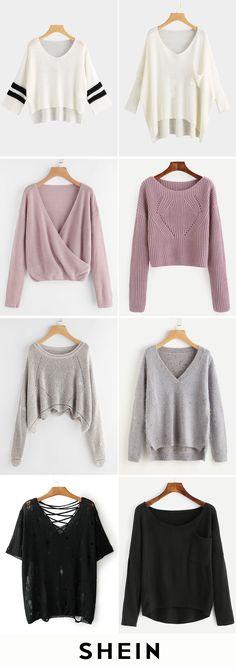Knitwear for fall