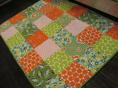 Quilted Kitchen floor mat from So Sue