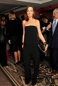 British Fashion Awards, Phoebe Philo, Strapless Jumpsuit, Strapless Dress Formal, Celine, Fashion Gone Rouge, Organza, Costume, Mode Inspiration
