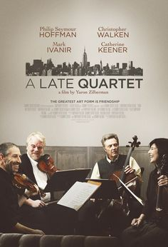 'A Late Quartet' may be a heightened sense of melodramatic wonder, thanks to the highly emotional and super sensitive Sting Quartet No. 14 by Beethoven in the film's finale or the wonderful sounds of the Brentano String Quartet playing on behalf of the Fugue. Nonetheless, a few things are certain.   'A Late Quartet' is a masterclass in acting for all four masterful and meticulous actors. I absolutely loved it!!  Very good movie, would highly recommend.