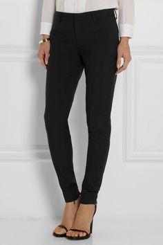 Saint Laurent|Wool-gabardine skinny pants