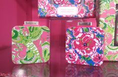 Lilly charger for iPhone battery emergencies! Perfect addition to your purse for a night on the town.