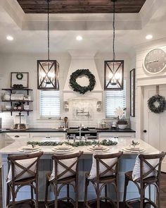 38 Stunning Kitchen Decoration Ideas With Rustic Farmhouse Style is part of Small farmhouse kitchen - Farmhouse style has overwhelmed the outline world From farmhouse rooms, to restrooms to everything in the middle of, the nation […] Home Decor Kitchen, New Kitchen, Home Kitchens, Kitchen Ideas, Island Kitchen, Kitchen Cabinets, Decorating Kitchen, Design Kitchen, Kitchen Lamps