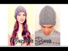 ▶ Faux-Cable Beanie - YouTube iKNITS video tutorial