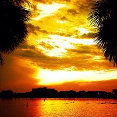 Beautiful Pensacola, Florida sunset