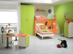 SPAR Twin Kids Bedroom Set WEB 67 - Made in Italy