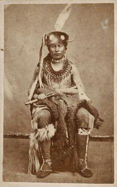 Sac & Fox man - circa 1870