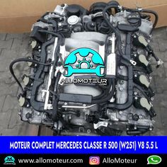 Moteur complet Mercedes Classe R 500 (W251) V8 5.5 L 🔵90.000 Kms certifiés 🔵Compatible sur plusieurs modèles Mercedes 🔵Année 2017 ( 2005-2017 ) 🔵Livré complet sans boîte de vitesses 🔵Garantie 6 mois