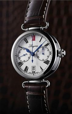 TimeZone : Industry News » Pre-Basel 2014 Longines Column-Wheel Monopusher Chronograph