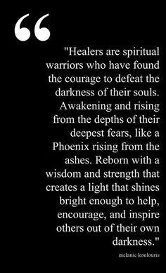 Healers are spiritual warriors http://www.shesingssweetly.com/?p=482